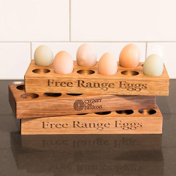 Wooden Egg Holder