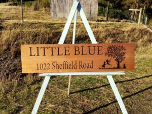 timber engraved signs